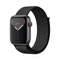 Apple WATCH Nike Series 5 44mm Cellular Aluminiumgehäuse spacegrau Nike Sport Loop schwarz