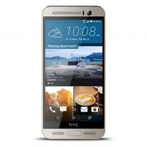 HTC One (M9+) 32GB gold on silver