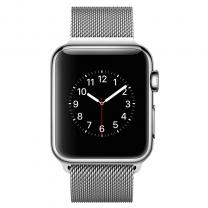 Apple WATCH 1. Generation Edelstahl 38mm Milanaise Armband